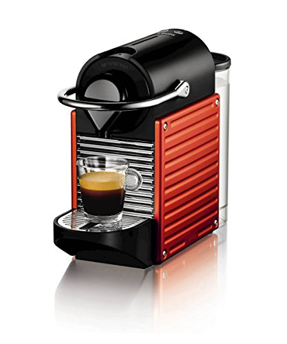 Krups Nespresso by Krups XN300640 Pixie Coffee Machine - Electric Red