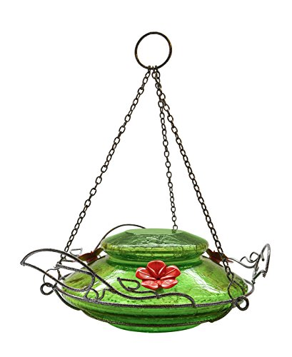 natures-way-bird-products-llc-hummingbird-feeder-with-perching-ring-green-crackle-glass