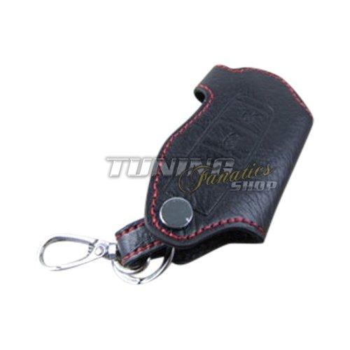 Schlüsseltasche Schlüsseletui Klappschlüssel Schlüssel LEDER Rot (Design Seitenschweller)