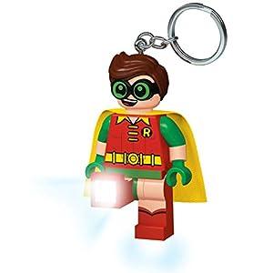 LEGO- Lgl Ke105 Batman Movie Robin Portachiavi LED, Multicolore, Taglia Unica, IQLGL-KE105 4895028513580 LEGO