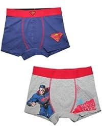 (Pack of 2) Superman(Man of Steel) Jungs Finest Boxershorts