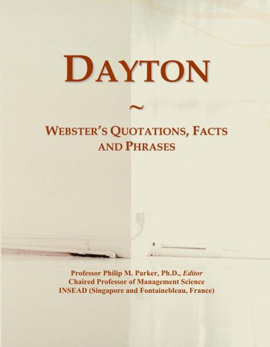 Dayton: Webster's Quotations, Facts and Phrases