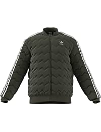 new style bca72 20890 adidas SST Quilted, Giacca Uomo, Night Cargo, M