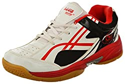 Klub Sports Mens White Badminton Shoes - 6 UK