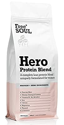 Free Soul Whey Protein Blend Chocolate 600g by Free Soul