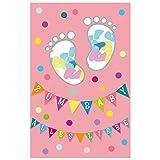 Susy Card 40010359 Grußkarte zur Geburt/ Mädchen