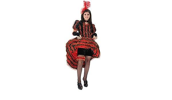 107 cm Ballerina Can Can Taglia 6//7 Anni Pegasus Vestito Costume Maschera di Carnevale Bambina