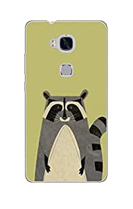 Mintzz Silicon Printed Back Cover For Huawei Honor 5X