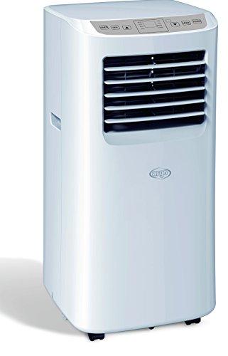 ARGO CLIMA SWAN Climatiseur Mobile Local 8000 Btu/h, Blanc