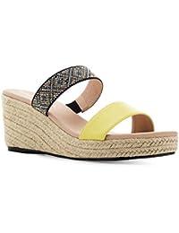 ebda4558 Amazon.es: cuñas amarillas - 44 / Zapatos para mujer / Zapatos ...