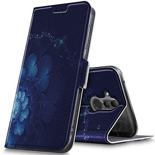 GeeMai Huawei Mate 20 Lite Hülle, Huawei Mate 20 Lite Leder Hülle Flip Case Tasche Cover Hüllen mit Magnetverschluss [Standfunktion] Schutzhülle Handyhülle für Huawei Mate 20 Lite Smartphone