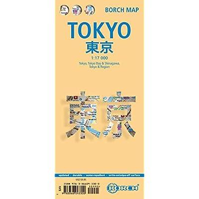 Tokyo : 1/17 000