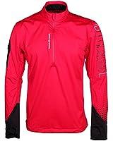 Reebok Crossfit Nano Speed 1/4 Zip Mens Windstopper Jacket Red