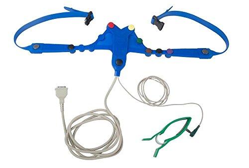 levmed-tapuz 11060h ECG cinturón banda electrodo Modelé ARH, con asas, conexión toma sin tornillos