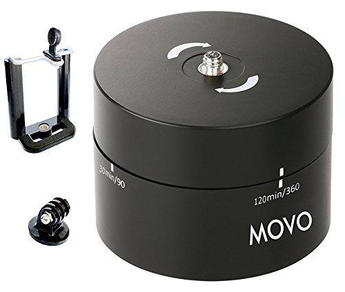 Movo Foto mtp2000 Panorama 360 °/120-minute Zeitraffer Stativkopf für Kameras, DSLR 's, GoPro 's und Smartphones (unterstützt bis zu 2 kg) (360-panorama-foto)