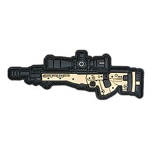 TaiwanGun AE Gun Fusil Airsoft PVC Patch 3D
