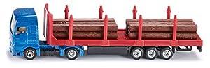 Siku 1659 - Camión de transporte de madera, varios colores