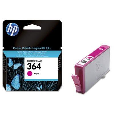 Magenta cartuccia d' inchiostro hp 364-cartuccia di inchiostro per stampanti, magenta, hp photosmart d5400/d7500hp photosmart all-in-one printer-b109b110/hp photosmart c5300..., standard, getto di inchiostro, 5-80%, -40-70°c)