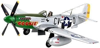 Revell Modellbausatz Flugzeug 1:72 - P-51D Mustang im Maßstab 1:72, Level 3, originalgetreue Nachbildung mit vielen Details, 04148 von Revell