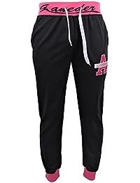 """Jogginghose - Sporthose - Freizeithose - Light """"58"""" - schwarz / rosa"""