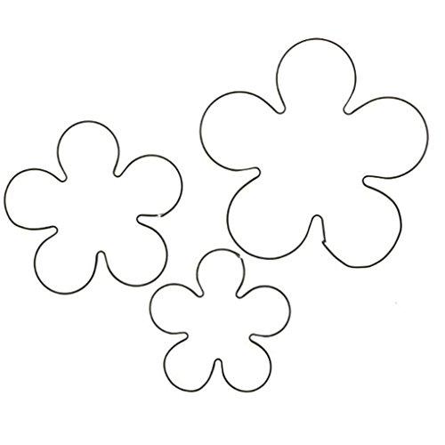 Provide The Best 3pcs Rose Petal Cutter Edelstahl DIY Blumen-Fondant-Kuchen-Formen - Petal Rose Cutter