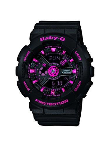 Casio Baby-G – Reloj Mujer Analógico/Digital con Correa de Resina – BA-111