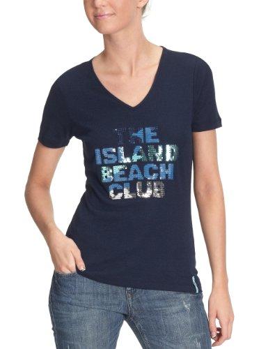 Jette/411105 t-shirt pour femme Bleu - Blau (navy 29)