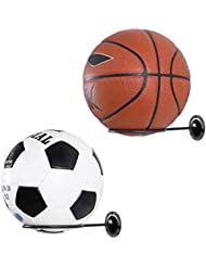 Clispeed Estantes de exhibición de la Bola de los titulares de la Bola 2PCS montados en la Bola del Ejercicio del Voleibol del fútbol del fútbol del Baloncesto