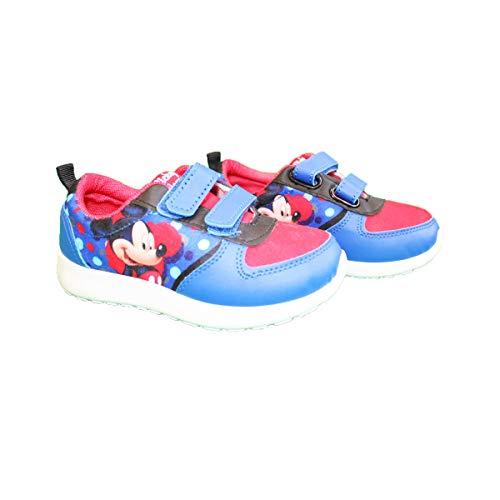 Mickey Mouse - Zapatillas de Deporte de Sintético Niños, 27 EU