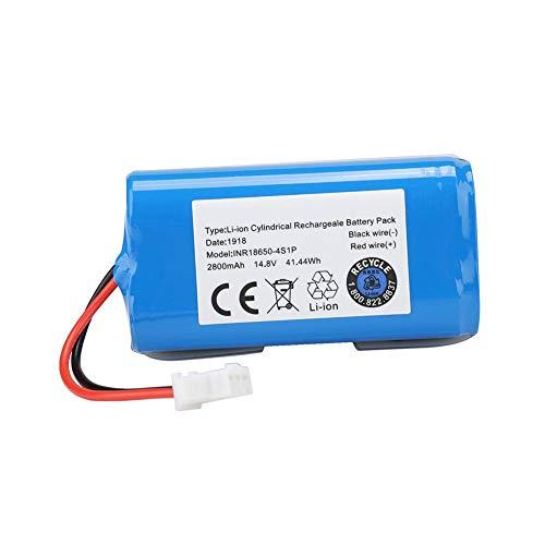 Batería Recargable de vacío inalámbrico Batería Recargable Ion de Litio 14.8 V 2800 mAh Reemplazo para el Robot Aspirador Ecovacs N79S para ILIFE A4 A4S A6 V7