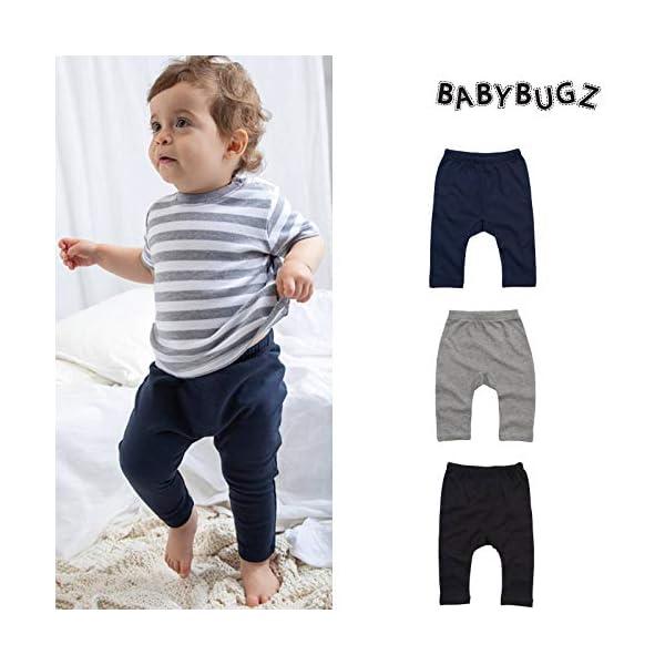 Babybugz Baby Leggings Algodón Soft Stretch Boy Girl Pantalón Pantalón 2