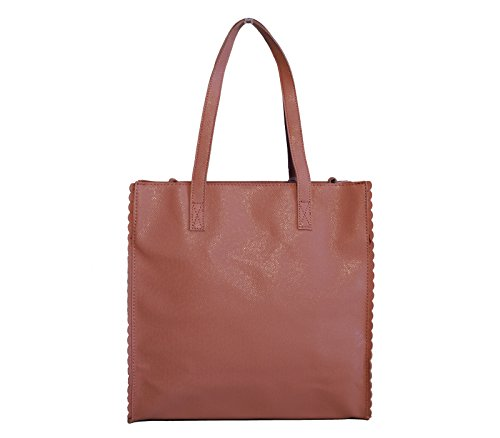 Borsa Donna Naj-Oleari In Materiale Sintetico Modello Shopper (A) Rosa