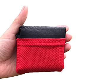 OOFIT Pocket Size Waterproof Picnic Blanket Camping Lightweight, Pocket Blanket for Outdoor Camping, Travel, Hiking, Picnic