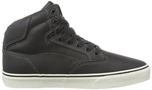 Vans M WINSTON Herren Hohe Sneakers Schwarz ((Leather) black/antique)