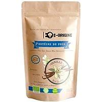 E-ORIGINE - Protéine de pois Vanille 100% Vegan & BIO - 500g