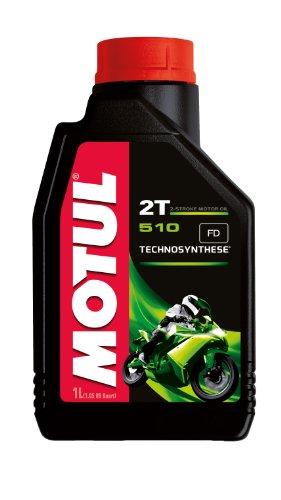 Motul 104028 510 2T Huile pour moto à moteur 2 temps 1L pas cher