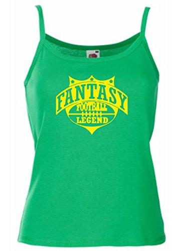 T-Shirtshock - T-shirt Frauen armellos WC1207 Fantasy Football Legend Maglietta, Größe L (T-shirt Fantasy Legend Football)