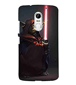 For Lenovo Vibe X3 man, man with gun, brown background Designer Printed High Quality Smooth Matte Protective Mobile Case Back Pouch Cover by Paresha
