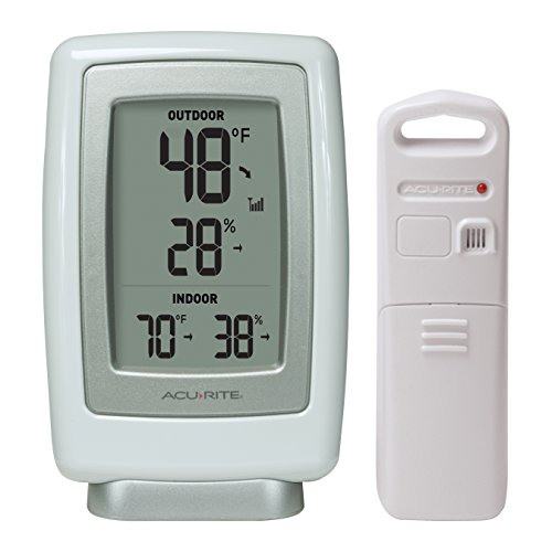 Acu Wrls Therm Humidity - Oregon Indoor-outdoor-thermometer