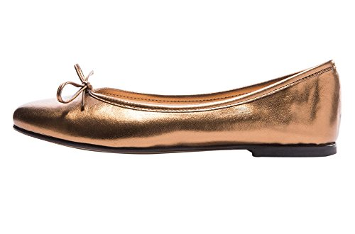 Guoar Damen Flache Grosse Grosse Schuhe Rutsch Mehrfarbig Bowknot