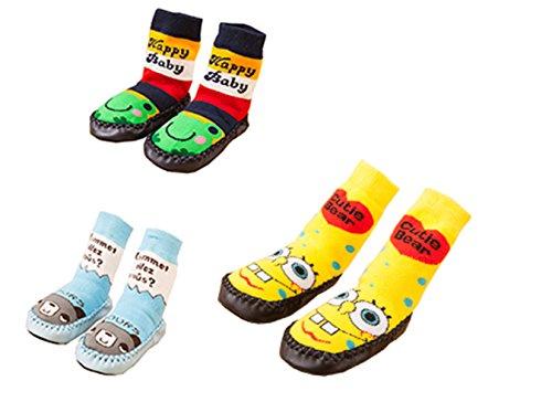 C.N. , {Chaussures premiers pas pour bébé (garçon) 3-9m