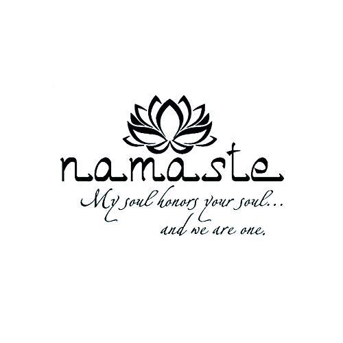 TrifyCore Pegatina Pared 57 * 38cm Namaste Wall Sticker