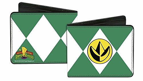 Image of Power Rangers Live Action TV Series Green Ranger Bi-Fold Wallet