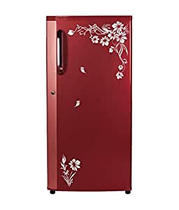 DecorVilla PVC Vinyl Sun Flowers Fridge Sticker and Wall Sticker (58 x 53 cm)