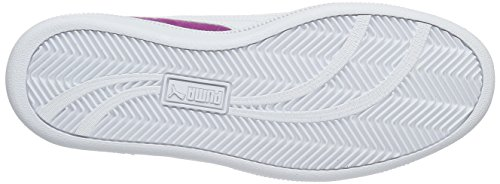 Puma Smash Fun Sd, Baskets Basses Mixte Enfant Violet - Violett (Hollyhock-puma White 03)