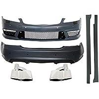 KITT COCBMBW221AMGTYS Kit de cuerpo 05-11 faldas laterales para parachoques y silenciador de escape
