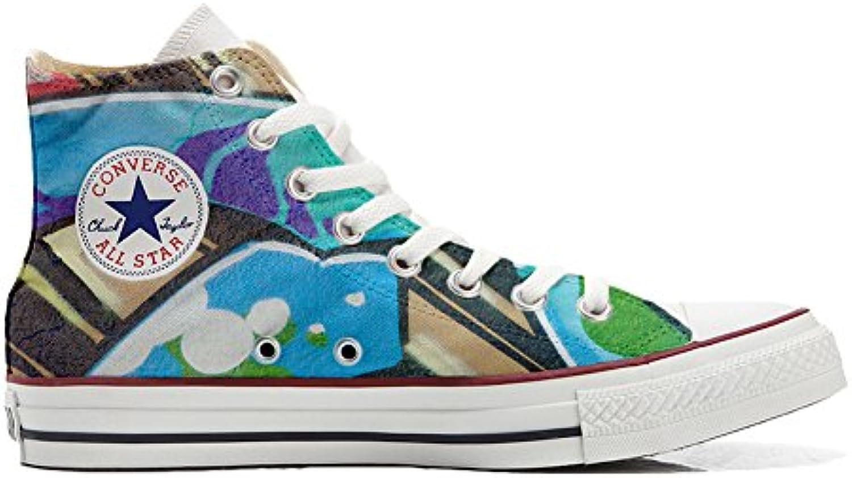 Converse Custom   personalisierte Schuhe (Handwerk Produkt) mit Graffiti