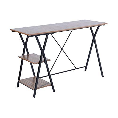 Ufficio scrivania tavolo homy casa pc laptop studio tavolo scrivania stazione di lavoro per casa ufficio corridoio laterale brown