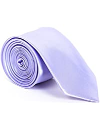 Schmale Krawatte 5cm handgenäht Polyester Business Party Schlips Fliege