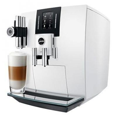 Jura 15165 J6 Bean-To-Cup Coffee Machine - Piano White